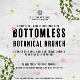 Botanical Bottomless Brunch Event Title Pic