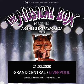Venue: The Musical Box...A Genesis extravaganza - Part II | Grand Central Hall Liverpool  | Fri 21st February 2020