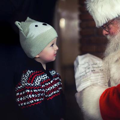 Father Christmas and General Admission to Groombridge Place