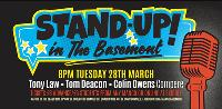 STAND UP in The Basement comedy night