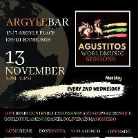 Agustitos World Music Session - Wed13Nov2019