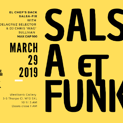Salsa & Funk Spring El chef's back salsa-fix