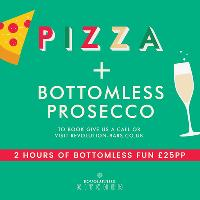 Pizza and Bottomless Prosecco