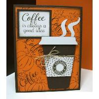 Coffee and Card Making
