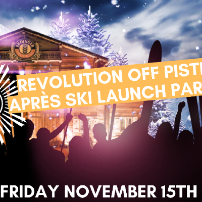 Revolution Off Piste | Apr?s Ski Launch Party | FREE TICKET