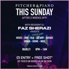 SUNDAY PARTY AT PITCHER & PIANO