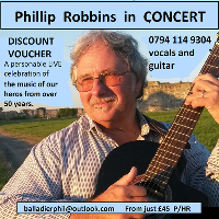 Phillip Robbins  in Concert