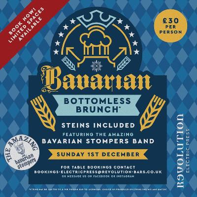Bavarian Bottomless Brunch