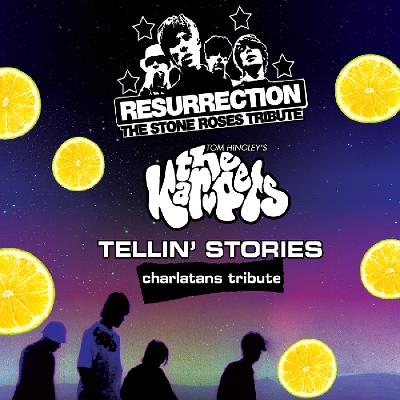 Resurrection Stone Roses, Tom Hingleys-Kar-Pets, Tellin