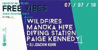 Free Vibes x Amazing Radio: Darcie + New Luna + Floral Scene + O