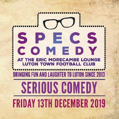 Specs Comedy - December 2019