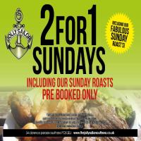 2 for 1 Sundays