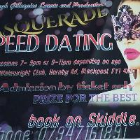 Masquerade Speed Dating