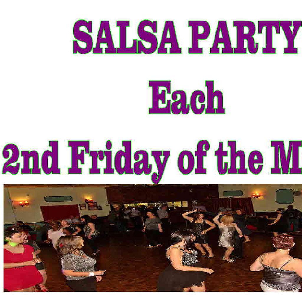 Cannock & Stafford Salsa Party (Thank God It's Friday )