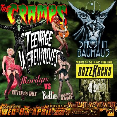 Teenage Werewolves(The Cramps tribute)She's In Bauhaus/Buzzkocks
