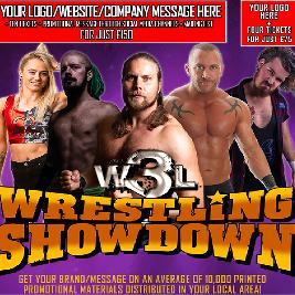 W3L Wrestling Showdown - Stockton-On-Tees