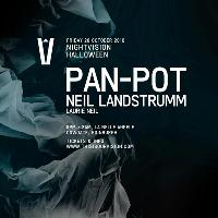 Nightvision presents Halloween with Pan Pot, Neil Landstrumm