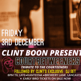 CLINT BOON with THE COURTBETWEENERS