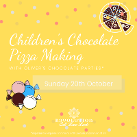 Childrens Chocolate Pizza Making With Olivers Chocolate