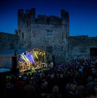 Leo Sayer at Castell Roc