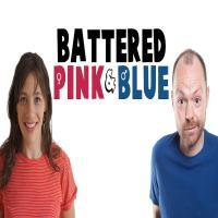 Battered Pink & Blue
