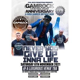 Gamrock 13yr Anniversary & Farda Gamrock's Bday Bash