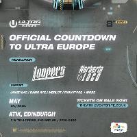 ULTRA Europe 2020: Official Countdown Party // Edinburgh UK