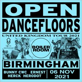 Social Underground x Boiler Room #opendancefloors