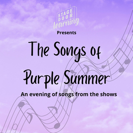 Stagedoor Learning   The Songs Of Purple Summer