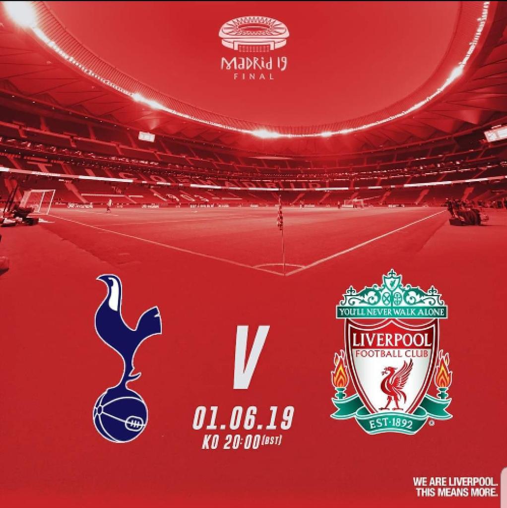 Champions League Final 2019 Tickets