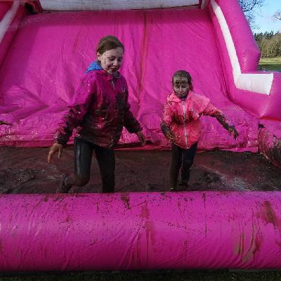 Queen Elizabeth Olympic Park Pretty Muddy Kids