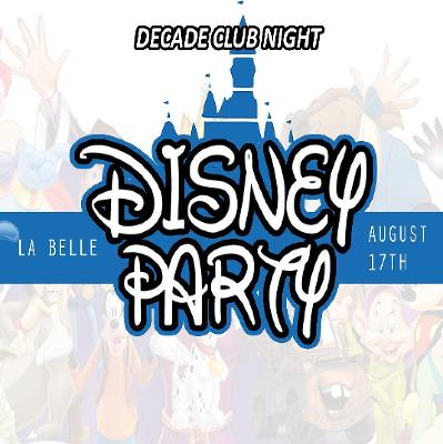 Edinburgh Festival - Disney Party