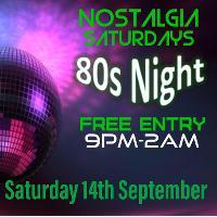 Nostalgic Saturdays 80