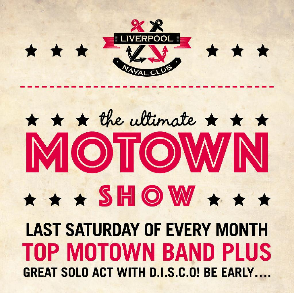 Ultimate Soul & Motown Show | Liverpool Naval Club Liverpool