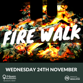 The Haven's Charity Firewalk