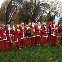 Missing People Santa Dash