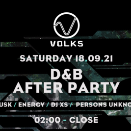 Volks drum and bass after party