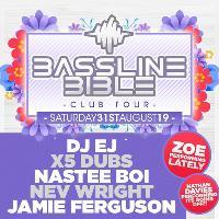 Bassline Bible Club tour now hex Sheffield
