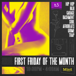 First Friday Hip-hop R&B Party