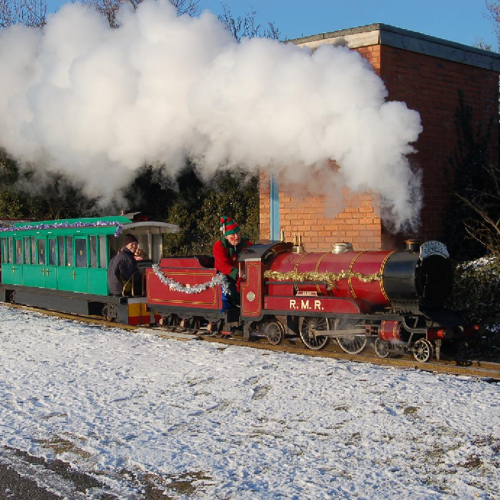 Santa Trains weekend 2