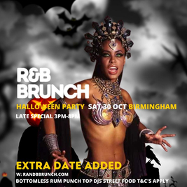 R&B Brunch HALLOWEEN - Late Session