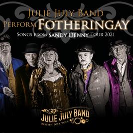 Julie July Band Perform