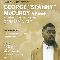 Jam Night with Spanky McCurdy and Friends