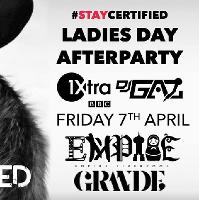 Certified Events Present Ladies Day Afterparty