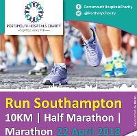 ABP Southampton 10K, Half Marathon and Marathon Porthosp Charity