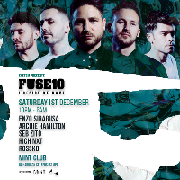 System. presents FUSE10th Anniversary.