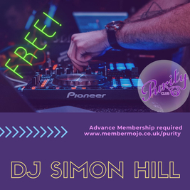Rock Night with DJ Simon Hill