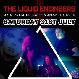 Liquid Engineers - Gary Numan Full Band Tribute plus Kazoo