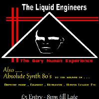 Liquid Engineers the ultimate Gary Numan tribute show