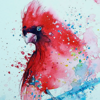 Crash Course Crafts  - Birds and Bunny Watercolour Painting